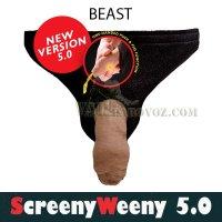 Screeny Weeny Beast 5.0. - фальш пенис и синтетическая моча