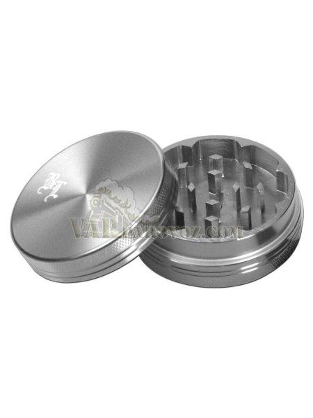 Гриндер Black Leaf Ø 40 мм/ 2 секции Серебро