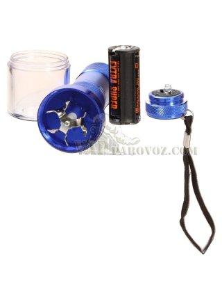 Электрический гриндер в форме фонарика