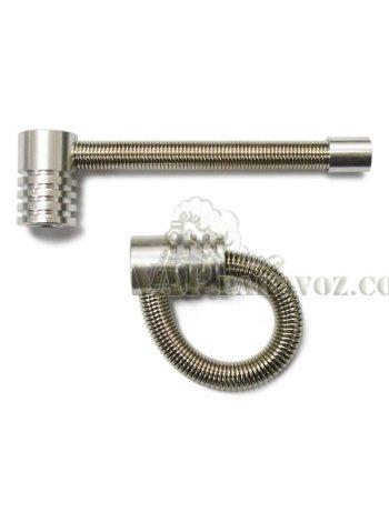 Spring pipe - трубка-пружина для курения длинна 9 см
