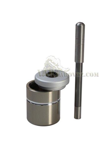 Курительная трубка & бокс для хранения PotHit mini SILVER
