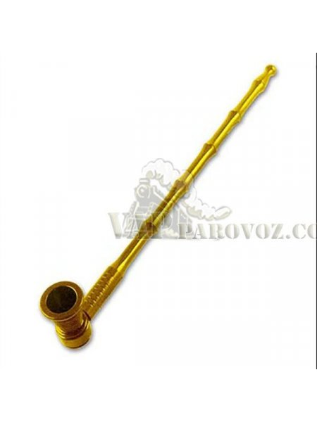 Трубка для курения длинная Gold