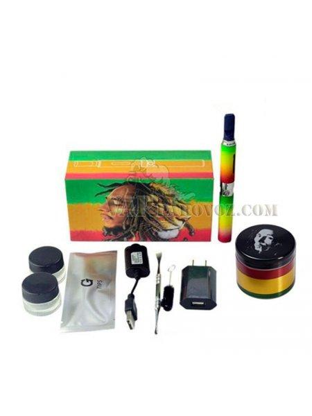 Набор гриндер и вапорайзер Bob Marley